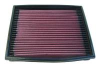 K&N filtr do originál airboxu Opel Rekord motor 2.6 výkon motoru 150hp