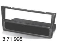 rámeček autorádia -OPEL AGILA (5/00->) - CORSA C (9/00->), OMEGA B (7/00->) - ASTRA G  (1/2001->) černá brava