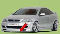 Rieger tuning Lipa pod přední nárazník Opel Astra G r.v. 98-