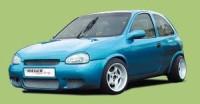 Rieger tuning Přední nárazník Opel Corsa B r.v. 04.93-10.00