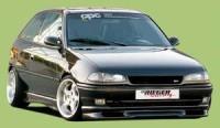 Rieger tuning Spoiler pod přední nárazník Opel Astra F r.v. -97