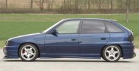Rieger tuning Boční práh levý Opel Astra F r.v. -97
