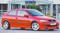 Rieger tuning Spoiler pod přední nárazník Opel Astra G r.v. 98-