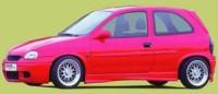 Rieger tuning Boční práh pravý Opel Corsa B r.v. 04.93-10.00