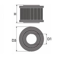 Sportovní filtr Green OPEL ASCONA A 1.6L S rok výroby 70-75