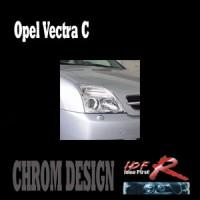 Chromové rámečky předních světlometů Opel Vectra C od roku výroby 2003-