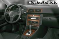Decor interiéru Opel Omega B -všechny modely rok výroby 03.94 - 09.99 -9 dílů přístrojova deska/ středová konsola