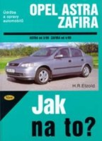 Kniha OPEL ASTRA G /65 - 136 PS a diesel/ od 3/98 a ZAFIRA od 4/99