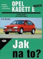 Kniha OPEL KADETT E benzin /55 -150 PS/ 9/84 - 8/91