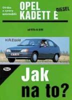 Kniha OPEL KADETT E diesel 9/84 - 8/91