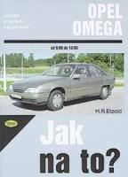 Kniha OPEL OMEGA /82 - 204 PS a diesel 73 - 100 PS/ 9/86 - 12/93