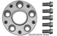 HR podložky pod kola (1pár) OPEL Ascona C rozteč 100mm 4 otvory stř.náboj 56,6mm -šířka 1podložky 25mm /sada obsahuje montážní materiál (šrouby, matice)