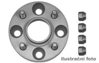 HR podložky pod kola (1pár) OPEL Ascona B rozteč 100mm 4 otvory stř.náboj 57,1mm -šířka 1podložky 25mm /sada obsahuje montážní materiál (šrouby, matice)